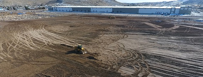 Excavation has begin on the new building in North Valleys
