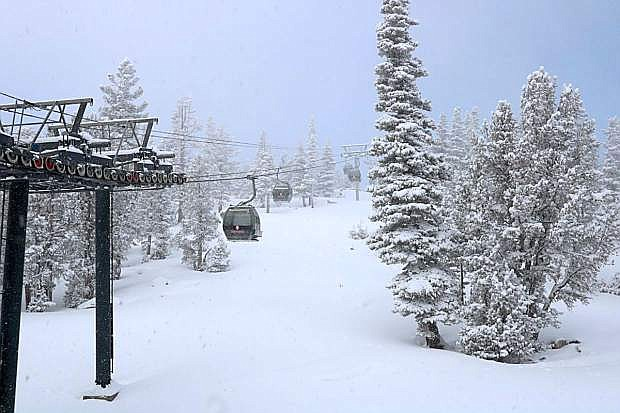 Recent storms have brought sorely needed snow to the Tahoe Basin.