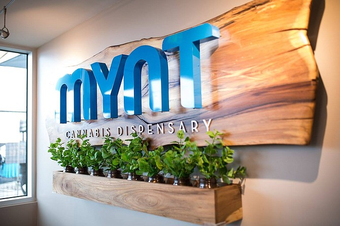 Mynt is one of four marijuana businesses currently operating in the city of Reno.