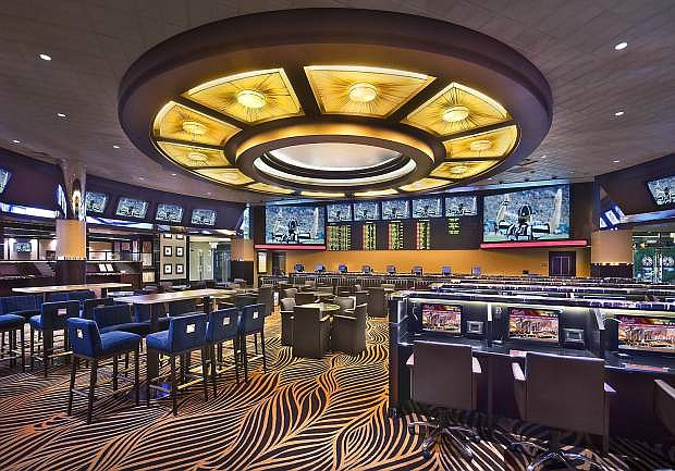 The Atlantic Casino Resort in Reno is among many casinos in Nevada that have for years offered legal sports betting.