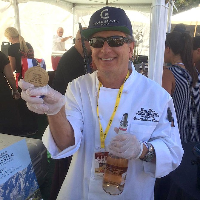 Granlibakken Tahoe Executive Chef Ron Eber.