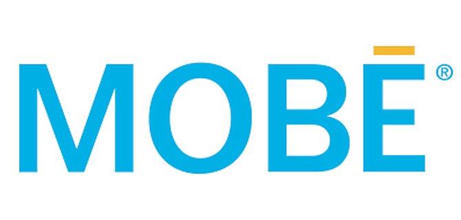 The MOBE company logo.