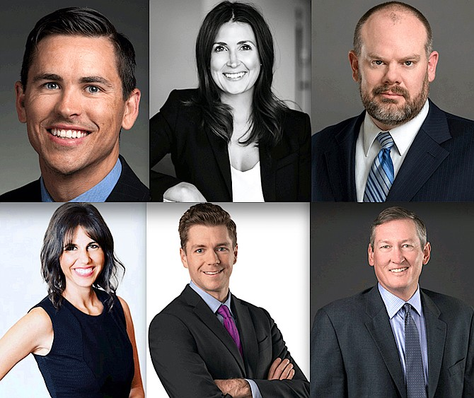 Panelists for the June 6 event are as follows (clockwise from top left): David Lewandowski, Cortney Young, Wayne Klomp, Tiffany Banks, Mat Trachok and Benjamin W. Kennedy.
