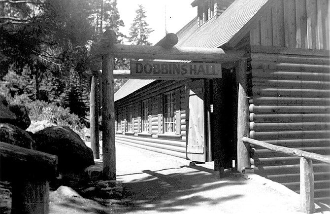 A look at Dobbins Hall in 1937.
