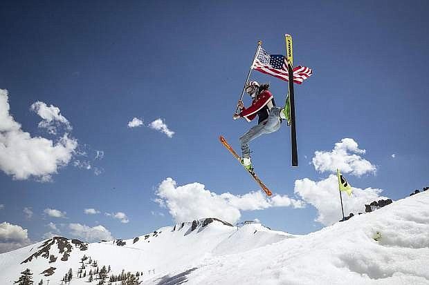 Squaw Valley totaled 719 inches of snow at upper mountain this season with a record-setting 315 inches of snowfall in February. This allowed the mountain to stay open until July 7.