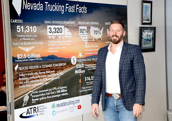 Paul Enos has been CEO of the Nevada Trucking Association since 2006.
