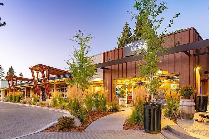 The Crossing at Tahoe Valley is situated on 4.9 acres at 2014-2062 Lake Tahoe Blvd. in South Lake Tahoe.