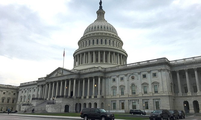 East front of the U.S. Capitol in Washington, D.C., as seen July 16, 2018.