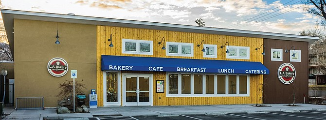 LA Bakery is located at 1280 N. Curry St. in Carson City.