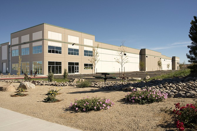 Exterior view of LogistiCenter at 395 Phase II Building 1.
