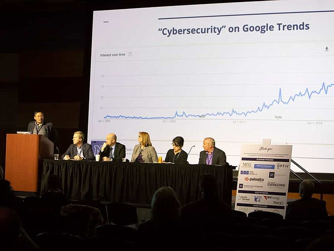 Shamik Sengupta is the Executive Director of the Center and helped to establish the Second annual Cybersecurity Conference hosted in March. The conference was led by keynote speaker Mike Buglewicz.