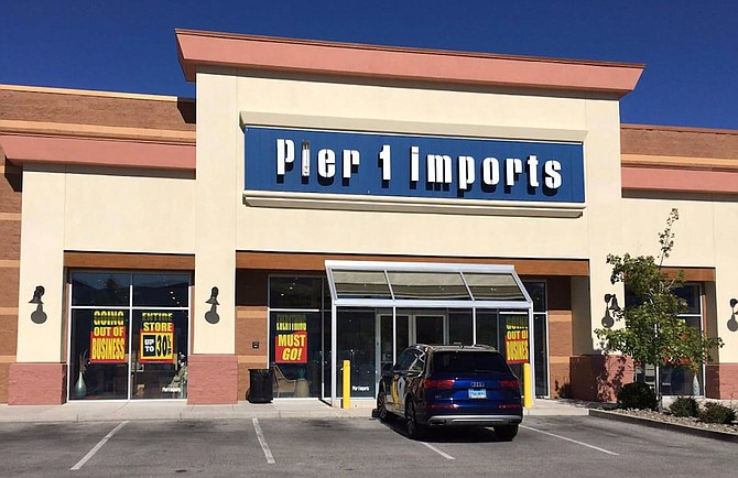 Pier 1 Imports at Carson Valley Plaza was one of the victims of the coronavirus shutdowns, with the national retailer recently filing for bankruptcy.
