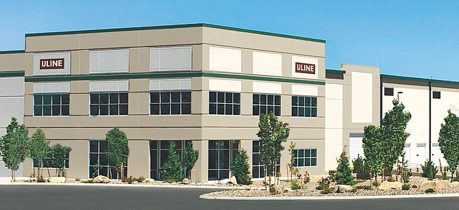A rendering of the planned 900,000-square-foot distribution center in the North Valleys.