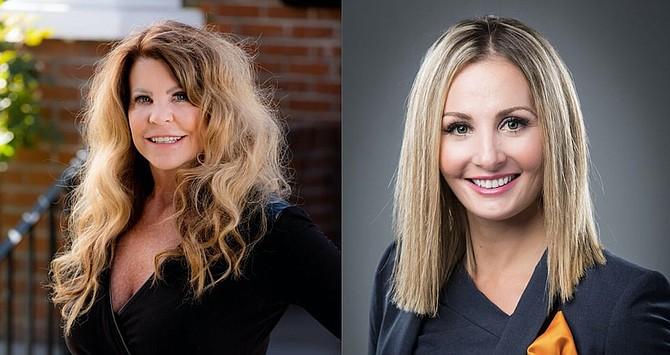 Terry Rasner-Yacenda, left, and Amanda Eastwick.